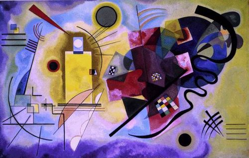 Kandinsky.yellow-red-blue