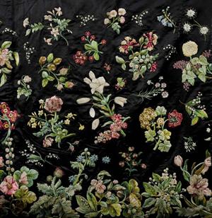 Mary Delany embroidery