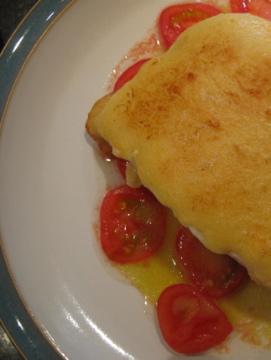 Smoked Haddock with Welsh Rarebit
