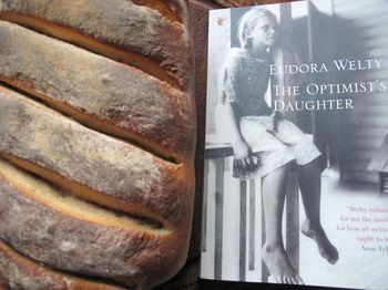 Spelt bread, The Optimist's Daughter