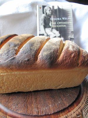 Spelt bread, The Optimist's Daughter