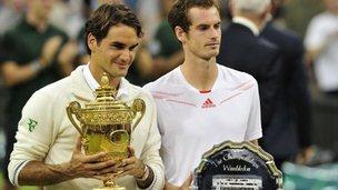 Federer Murray