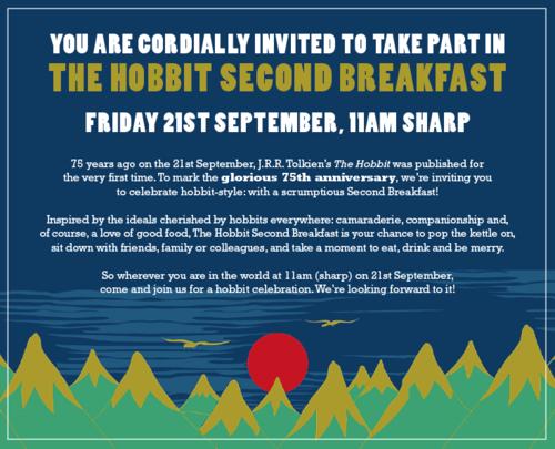 Hobbit invitation