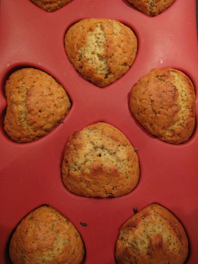 Marmalade & poppy seed muffins
