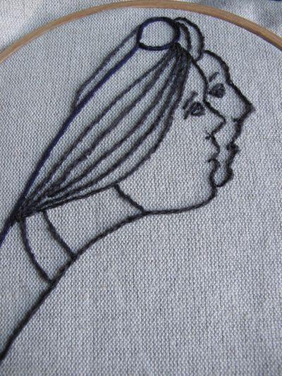 Tapestry panel detail