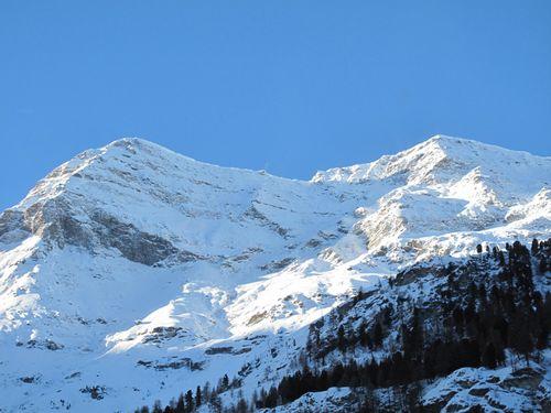 Mountains, Zinal