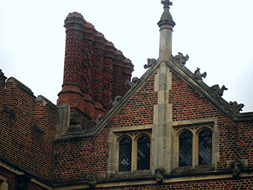 Hampton Court chimneys