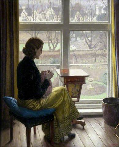 Harold Knight, A Window in St