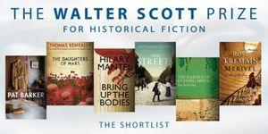 Walter Scott Prize shortlist