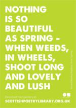 SPL Poster Spring Gerard Manley Hopkins