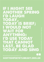 SPL Poster Another spring Christina Rossetti