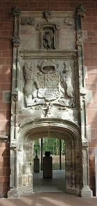 Burrell: portal, Hornby Castle