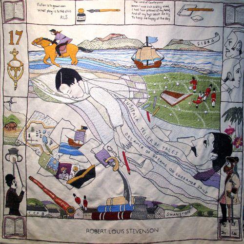 Robert Louis Stevenson, The Great Tapestry of Scotland