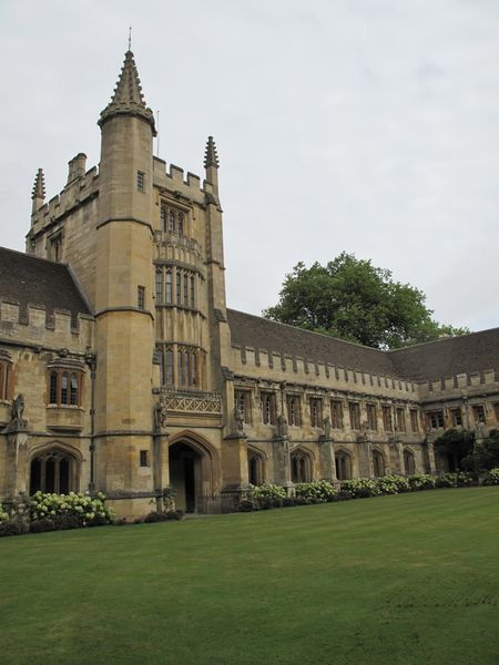 Founder's Tower, Magdalen College