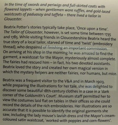 Beatrix Potter, V&A
