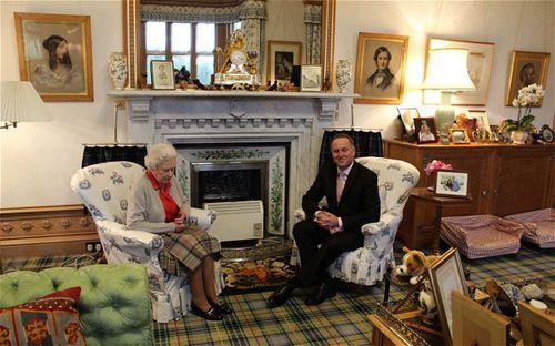 Balmoral sitting room