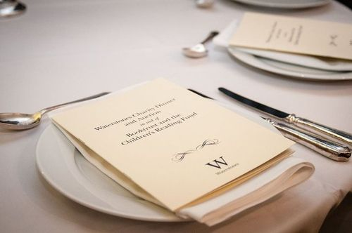 Waterstones charity dinner