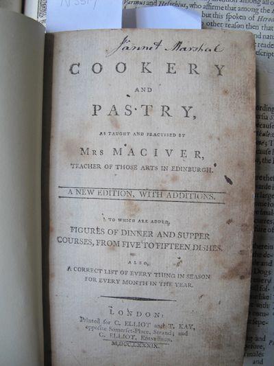 MacIver's Cookery