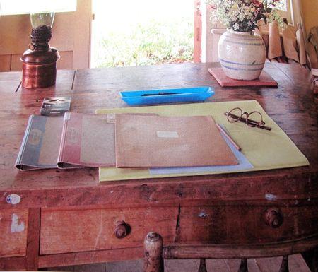 Virginia Woolf's desk, Monk's House