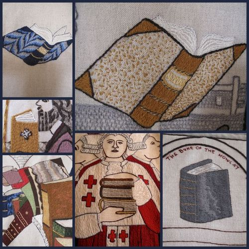 The Great Tapestry of Scotland, books
