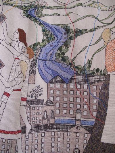 Tapestry, New Lanark