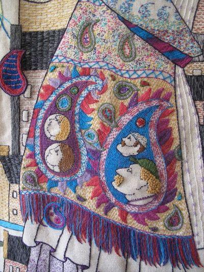 Tapestry, Paisley shawl