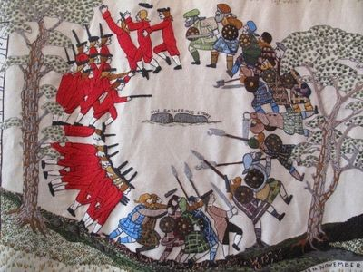 Tapestry, Battle of Sheriffmuir