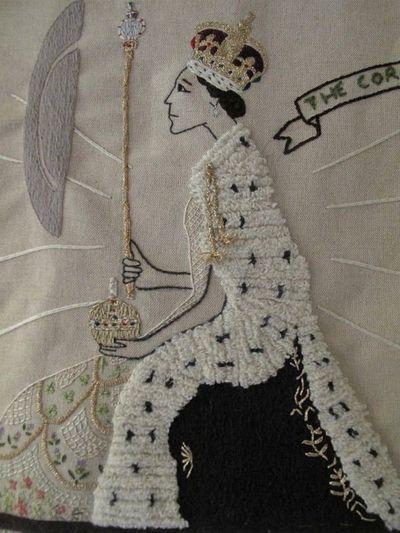 Tapestry, Queen Elizabeth II