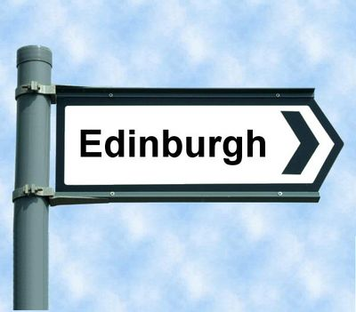 Edinburgh sign