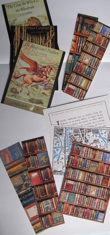 Bodleian cards & bookmarks