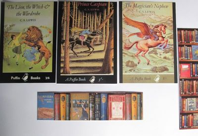 Bodleian Lewis cards & bookmarks