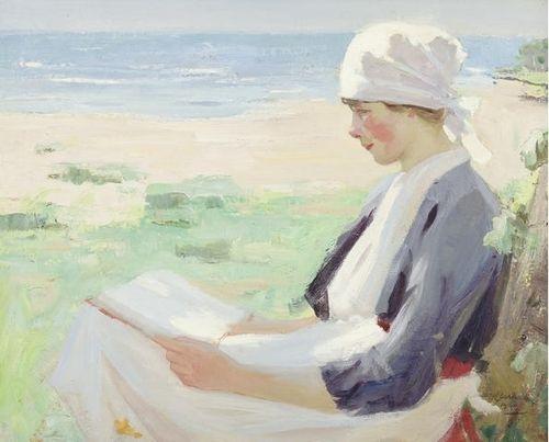 Summer Reading, William Hanna Clarke, 1920