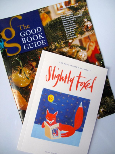 The Good Book Guide, Slightly Foxed