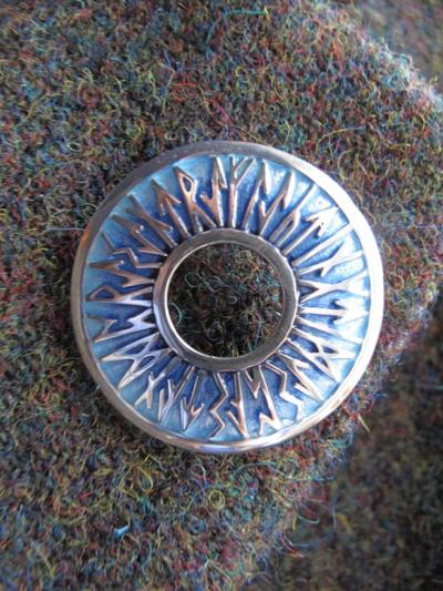 Runic brooch