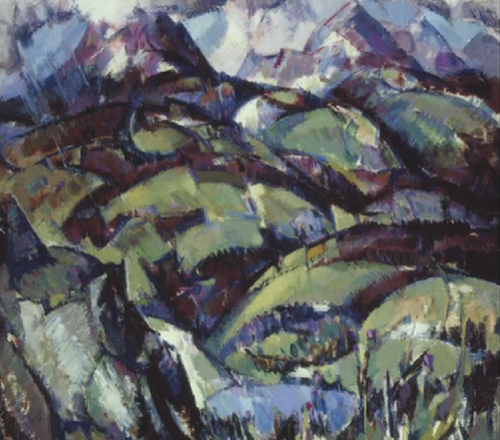 J.D. Fergusson, Storm over Ben Ledi