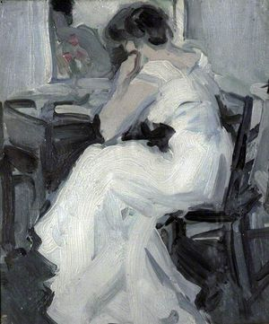 Fergusson, A Lady in White
