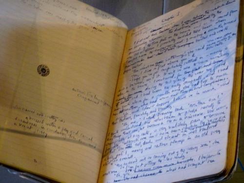 Barbara Pym notebook, Bodleian