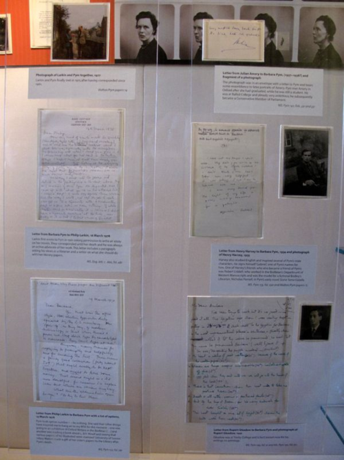 Barbara Pym correspondence, Bodleian