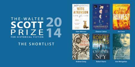 Walter Scott Prize shortlist 2014