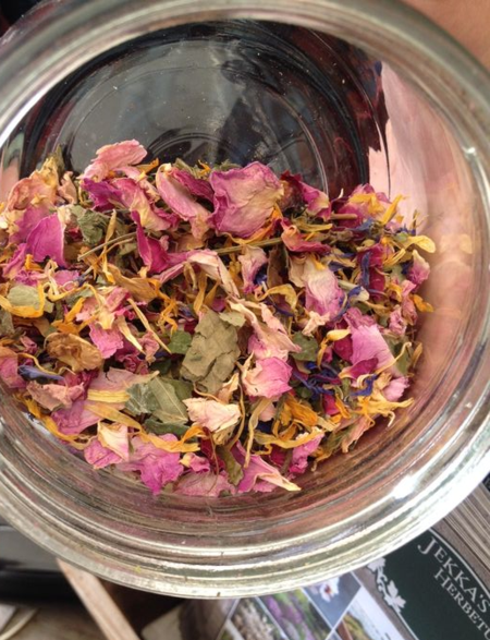 Jekka's Herb Farm tea