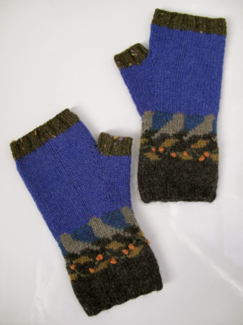 Night Birds mitts