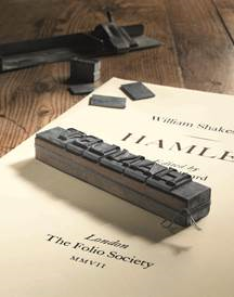 Folio Society Letterpress Shakespeare