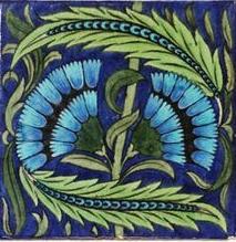 William de Morgan cornflowers