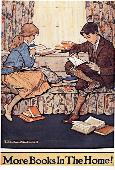 More Books in the Home, Jessie Willcox Smith