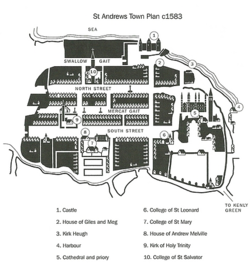 St Andrews c1583