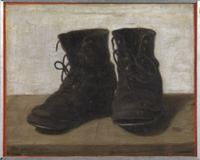 Gertrude Jekyll's boots