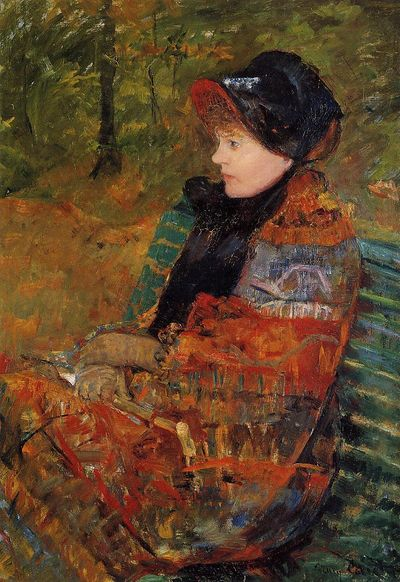 Autumn, Mary Cassatt
