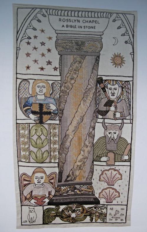 Rosslyn Chapel Great Tapestry of Scotland