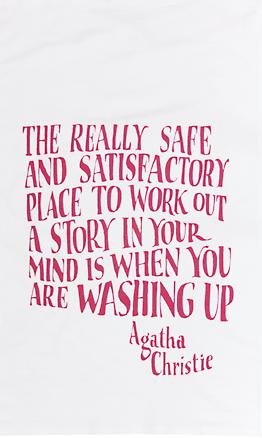 Agatha-Christie-Tea-Towel