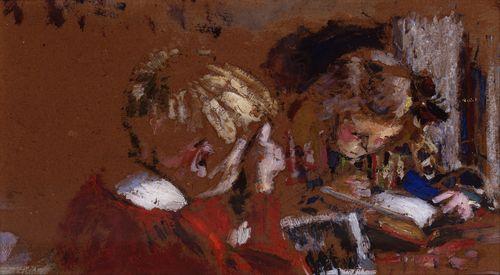 Children Reading, Vuillard